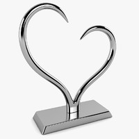 heart sculpture s 3d model