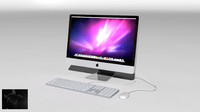 3d imac reflection