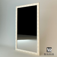 3d mirror frame modern