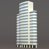 skyscraper building 3d 3ds