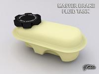 c4d master brake fluid tank