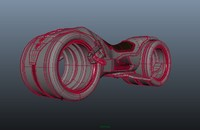 3d model tron bike