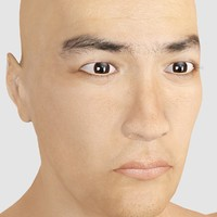 kazuri asian male 3d max