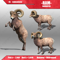ram animations 3d max