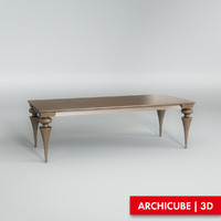 dining table 3d max