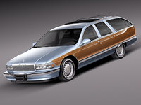 v8 1996 buick roadmaster 3d 3ds