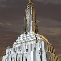 3d model of empire state building