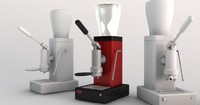 espresso machine 3d lwo