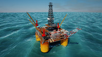 maya offshore oil platform