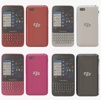 blackberry q5 color 3d model
