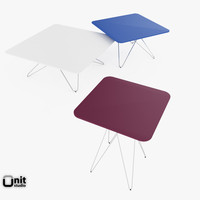 materials cimber tables leolux 3ds