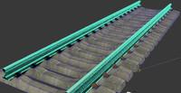 3d model rail road