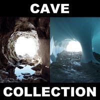 3d model cave 2 landscape