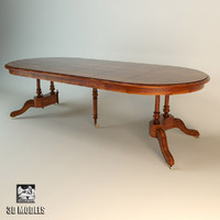 ceppi dining table 3d obj