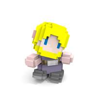 cube character obj