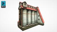factory building 3d max