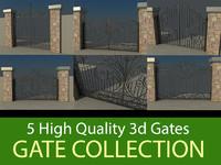 gate vol1 3d model