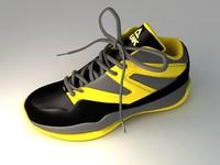 peak sneaker 3d model