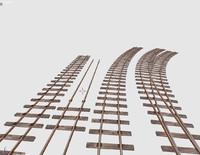 3d model railway track