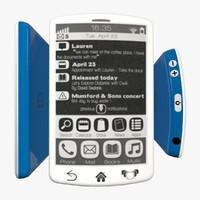 3d model e-ink smartphone