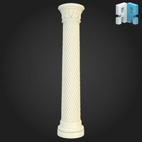 3ds max column