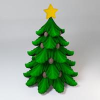 fir-tree 3d max