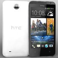 3d model htc desire 300 white