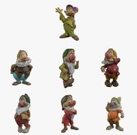 3ds max seven dwarfs