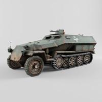3d sd kfz 251