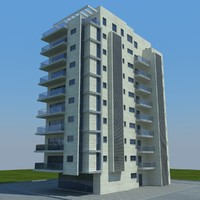 buildings 2 5 3d model