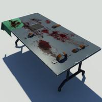 maya torture table