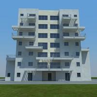 3d model buildings 8 1