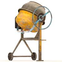maya cement mixer