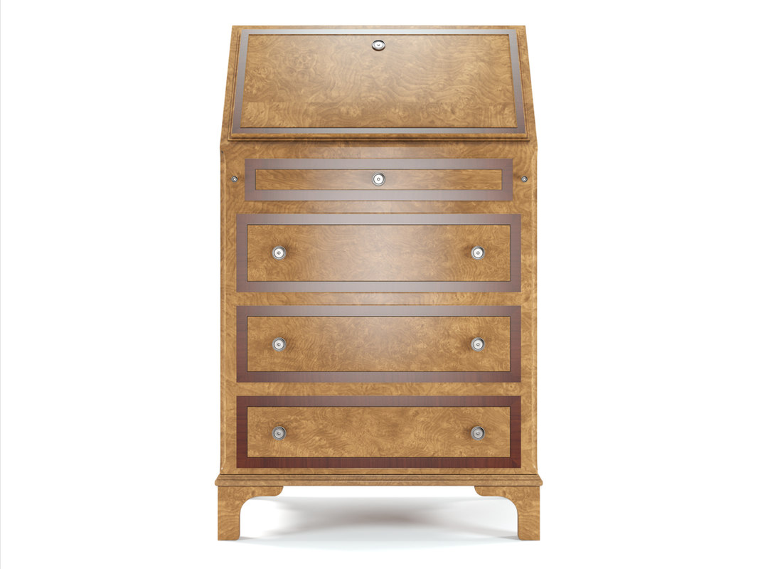 francesco molon bureau 3d model. Black Bedroom Furniture Sets. Home Design Ideas