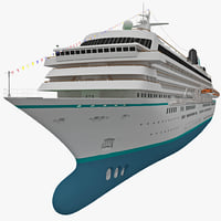 crystal symphony 3d model