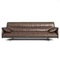anthon sofa poltrona frau 3d max