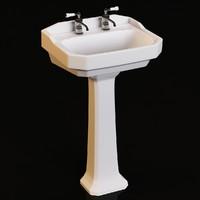 max heritage granley washbasin