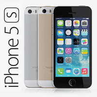 copy iphone 5s 3d model