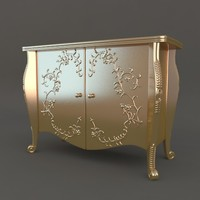 Commode in classic style (Chest of drawers)