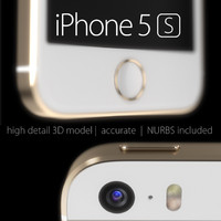 iphone 5s accurate 3d model