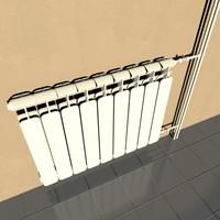 3d model radiators