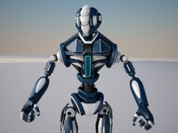 maya robot materials