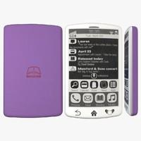 3d e-ink smartphone