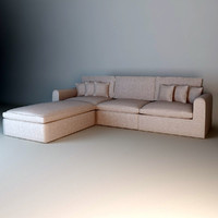 3d model eichholtz sofa corner