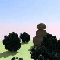 sandstone rock 3d 3ds