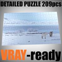 maya puzzle 209 pieces