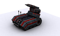 tanks future 3d model