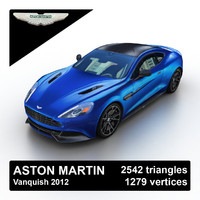 2012 aston martin vanquish 3d 3ds