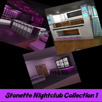 3ds max stonette nightclub