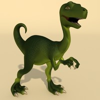 Dino baby animated